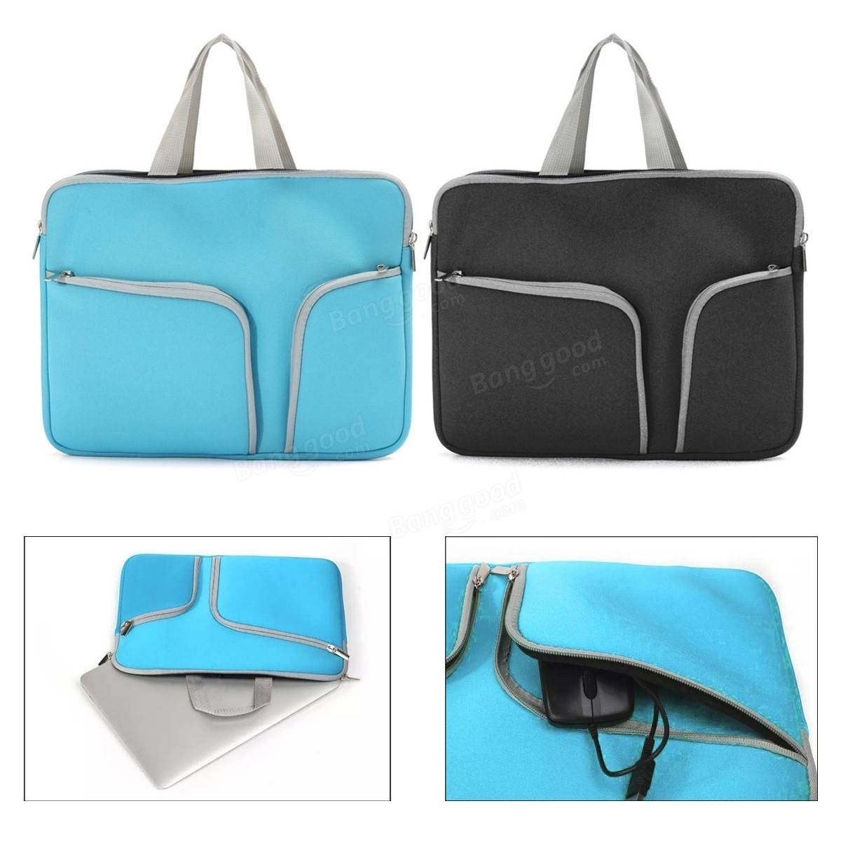 Dagaanbieding - Laptop Notebook Sleeve Carry Bag Case Pouch voor Apple 13'' MacBook Air Pro dagelijkse aanbiedingen
