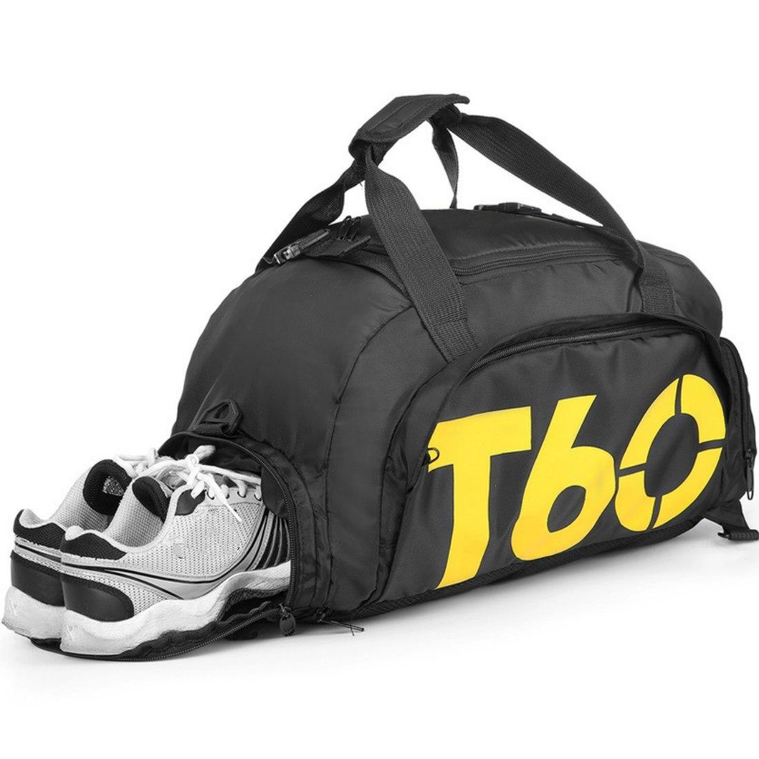 5fa15ef358bbf4 Fitness/trainer sporttas en rugzak in 1.