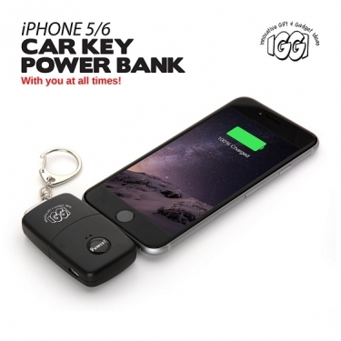 Car Key Power Bank voor je iPhone 5 of 6