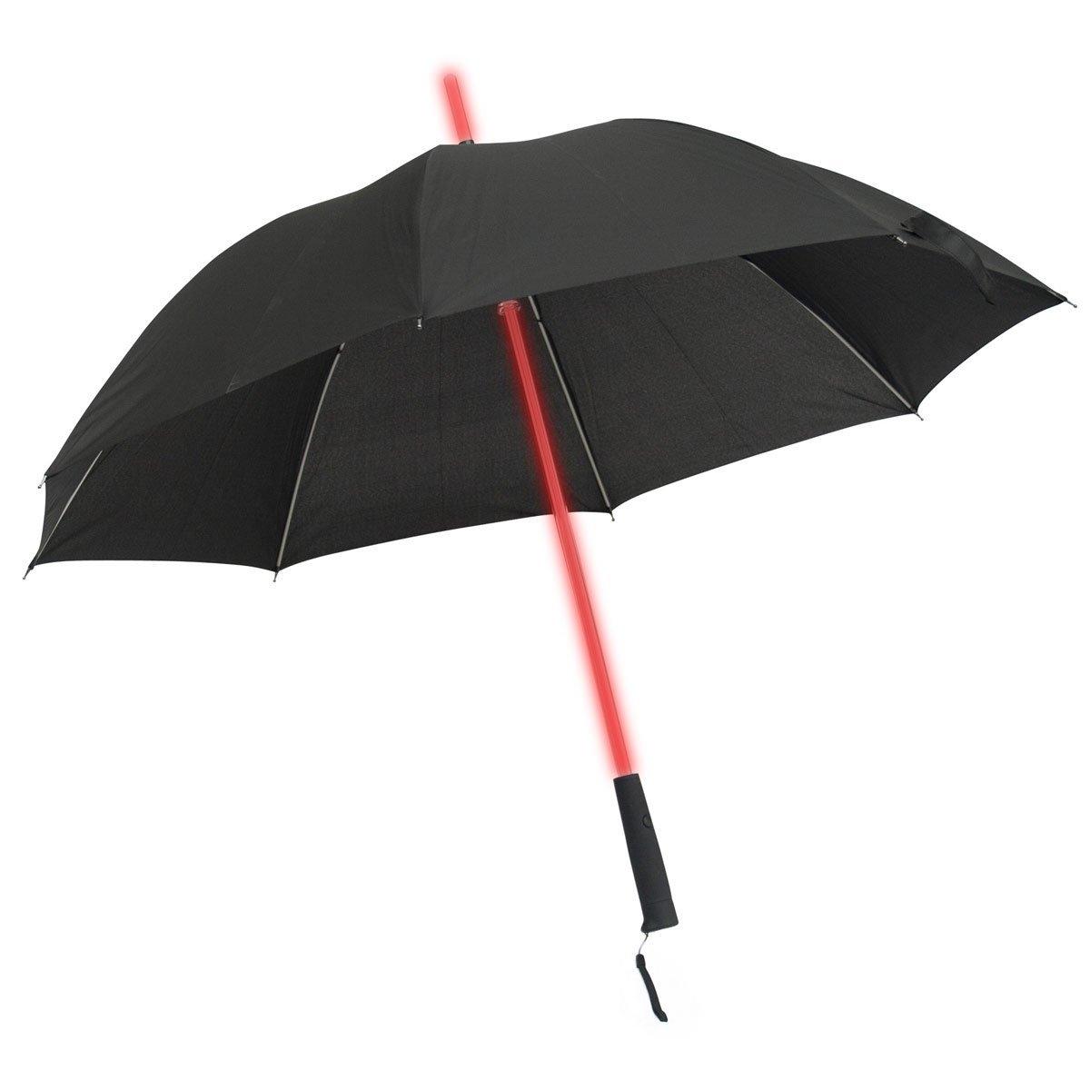 Paraplu met LED verlichting en zaklamp voor slechts € 49,95