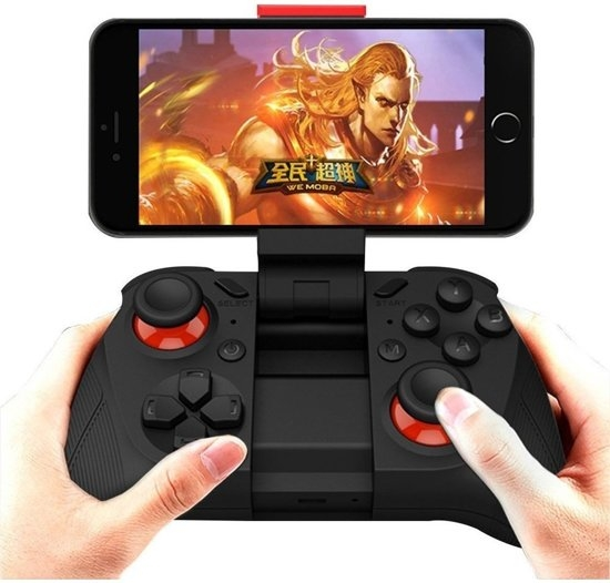 Draadloze Bluetooth iOS, Android Gamepad - Joystick voor Smartphone, Tablet, TV en PC