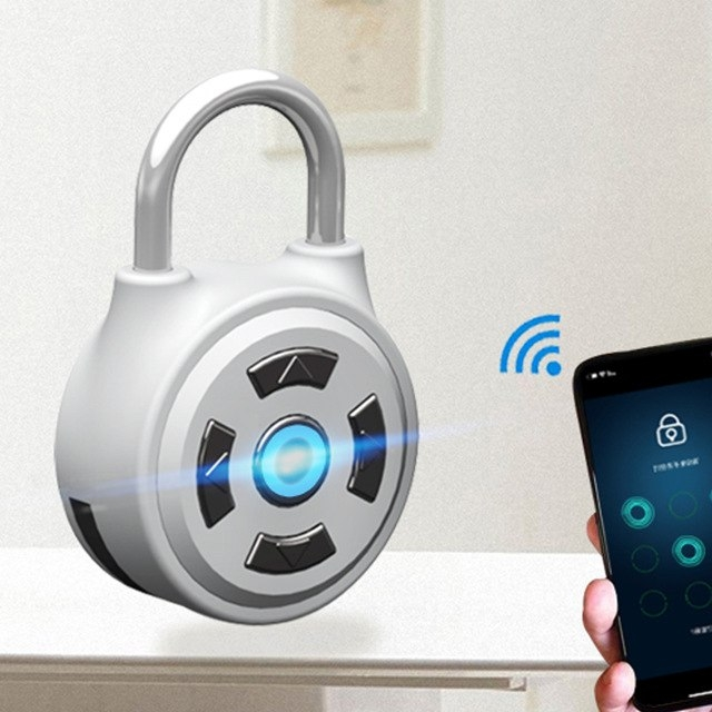 Smart Bluetooth Hangslot, met app voor iOS en Android