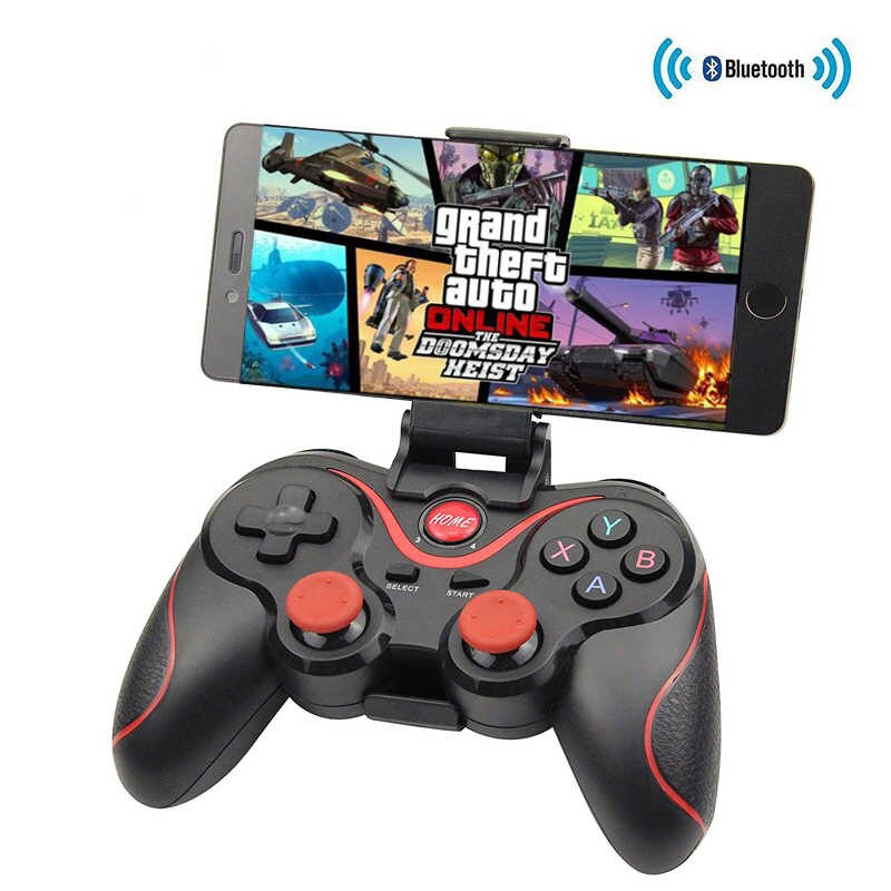 Dagaanbieding - Bluetooth gamepad, voor o.a. iPhone en Samsung dagelijkse aanbiedingen