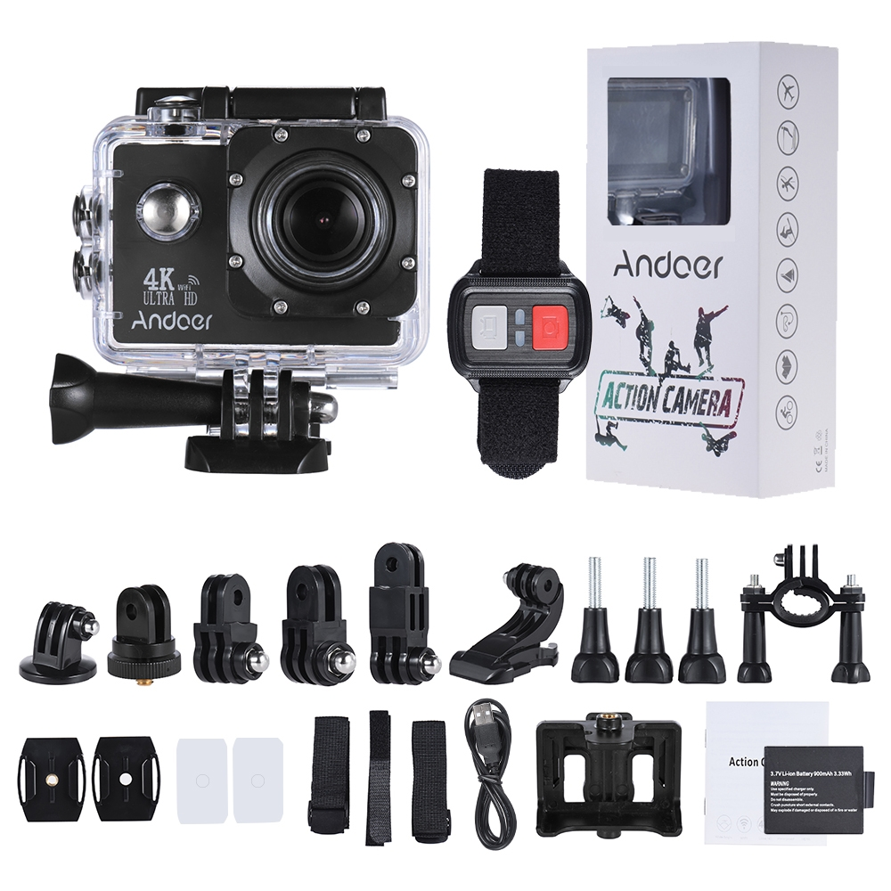 Dagaanbieding - Sports Action Camera 4K HD1080P 16MP 2inch LCD Screen WiFi dagelijkse aanbiedingen