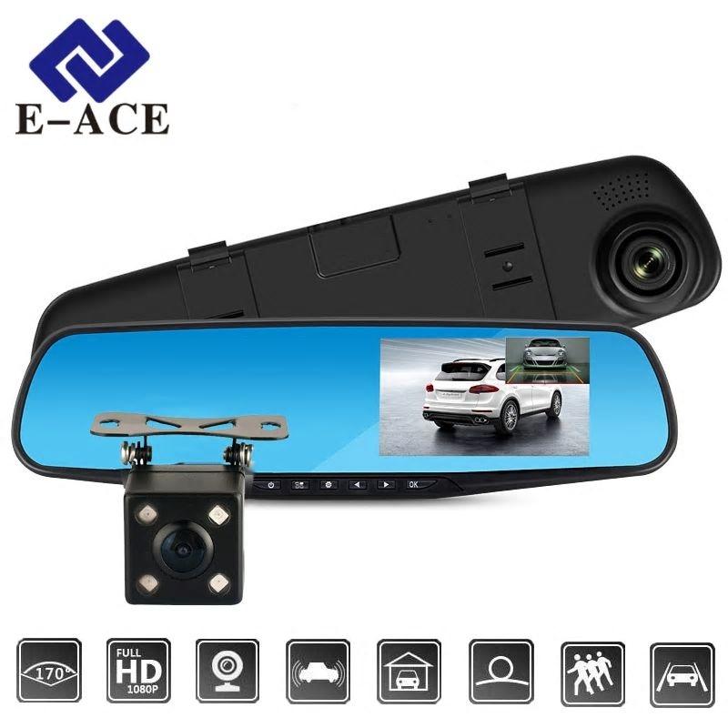 9497af5d30702d Dagaanbieding - Full HD 1080p Achteruitkijkspiegel met Achteruitkijkcamera  erbij