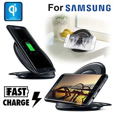 Fastcharge QI Draadloze oplader voor je Samsung S7 Edge S6 Edge Plus Note 5