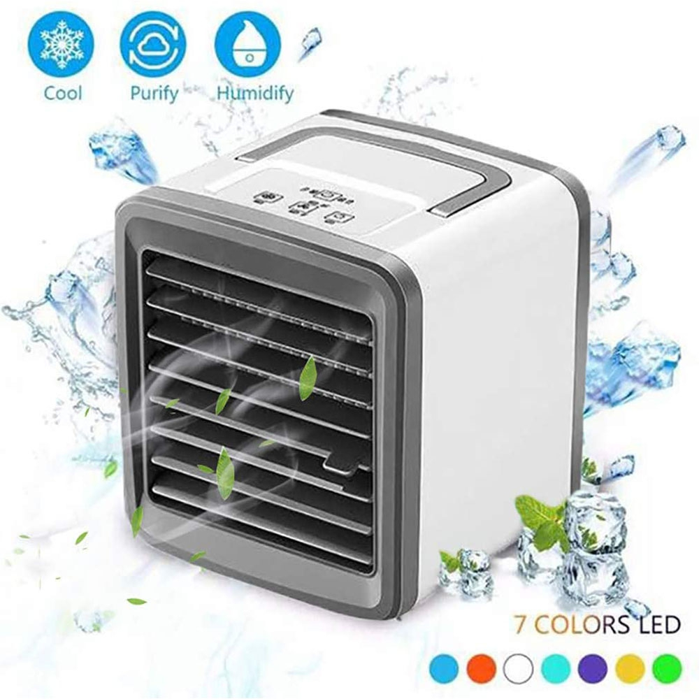 Dagaanbieding - Mini Mobiele Airconditioner Luchtbevochtiger/reiniger met USB dagelijkse aanbiedingen