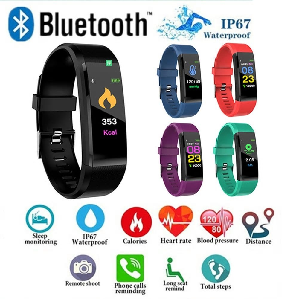 Activity Tracker Smart Bracelet met Bluetooth