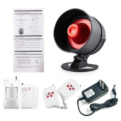 5 in 1 Home Wireless Security Alarm