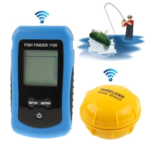 Dagaanbieding - Draadloze visvinder met LCD scherm en sonar sensor dagelijkse aanbiedingen