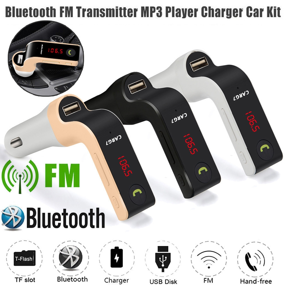 Bluetooth Design USB FM Transmitter