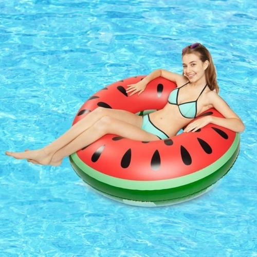 Dagaanbieding - Opblaasbare ananas, meloen of donut zwemband dagelijkse aanbiedingen