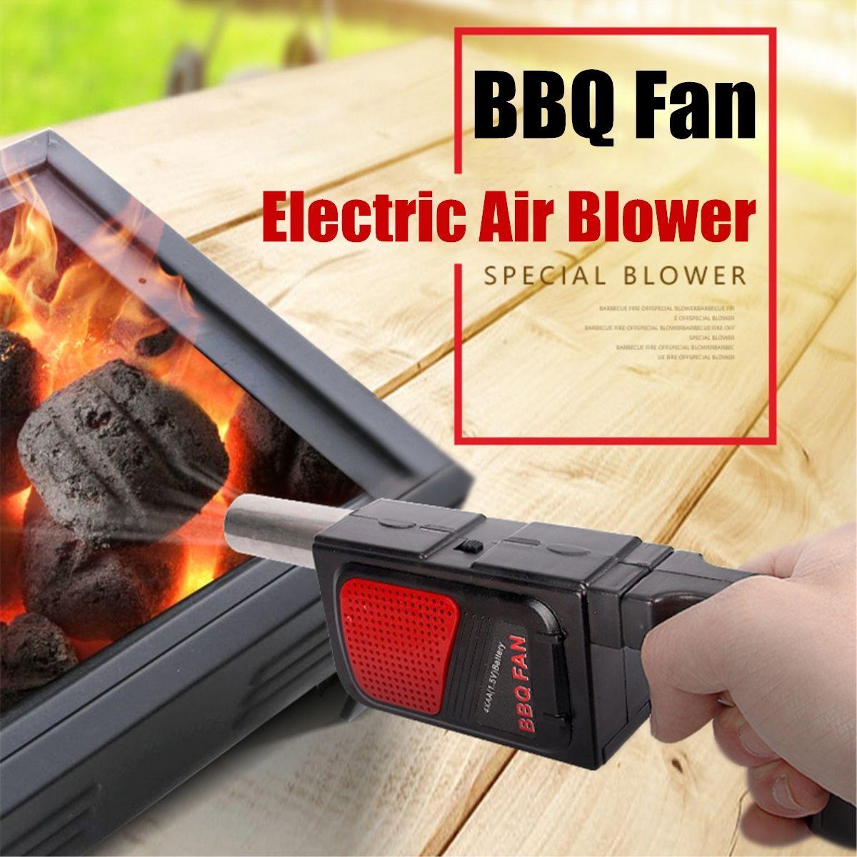 Dagaanbieding - BBQ Gun - Elektrische Barbecue Starter Ventilator Aanjager dagelijkse aanbiedingen