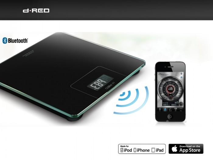 Bluetooth Weegschaal