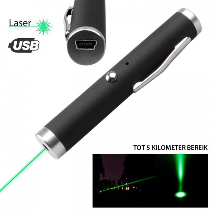 Herlaadbare laserpointer