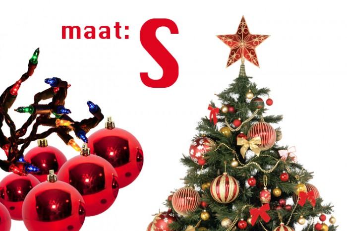 Dagaanbieding Kerstboom compleet (maat S)