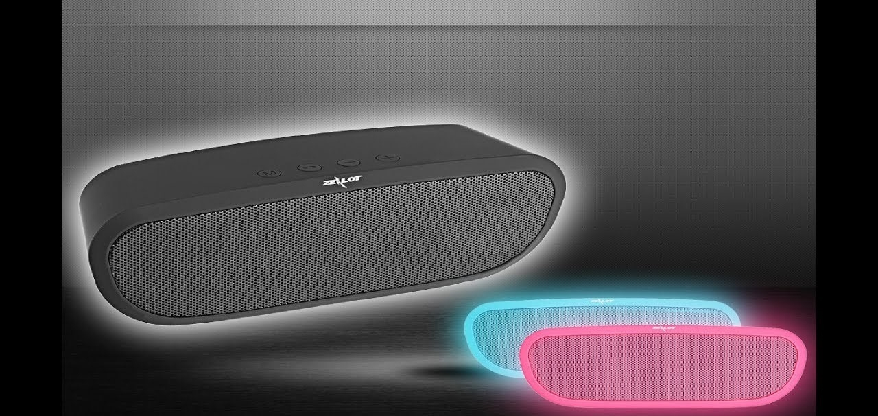Dagaanbieding - Spotify Smart Portable Bass Hands-free Wireless Bluetooth speaker dagelijkse koopjes