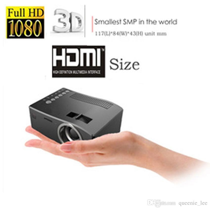 Dagaanbieding - 1080p HD compacte mobiele beamer tot 80 inch dagelijkse aanbiedingen